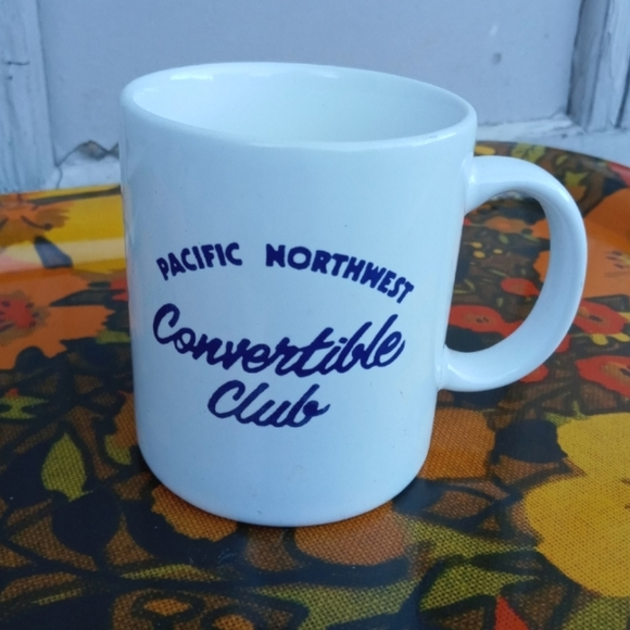 🖤SALE🖤 VINTAGE COFFEE MUG PNW CONVERTIBLE CLUB